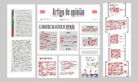 Copy of Elementos do Artigo de opinião