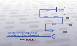 Copy of Glosario: términos indispensables para elaborar el Proyecto