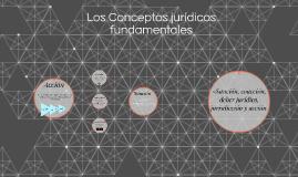 Los Conceptos jurídicos fundamentales