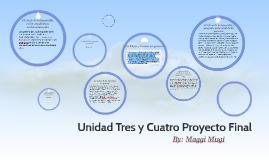 Unidad Tres y Cuatro Proyecto Final