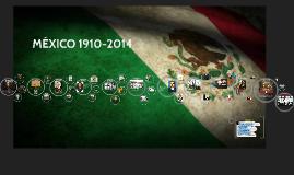 Copy of Linea del tiempo (México 1910-2014)