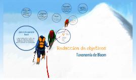 Copy of Redacción de objetivos - Taxonomía de Bloom