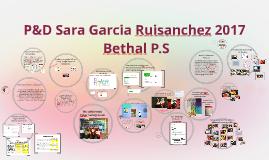 P&D Sara Garcia Ruisanchez 2017