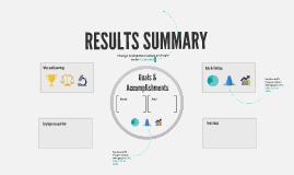Copia de Results Summary