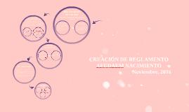 Copy of Creación de Reglamento AFUDAEM Nacimiento