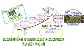Reunión padres/madres 2018