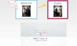 Copy of Appearances vs. Reality