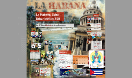 Urbanization In La Habana