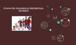 Copy of ETAPAS DEL DESARROLLO PSICOSEXUAL DE FREUD