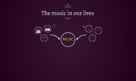 The music in our lives