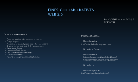 EINES COL·LABORATIVES WEB 2.0