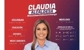 CLAUDIA ALCALDESA