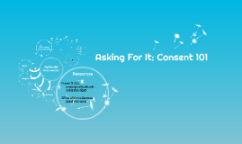 Asking For It: Consent and Sexual Assault