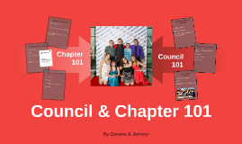 Chapter and Council 101