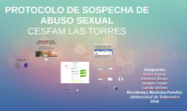 PROTOCOLO DE SOSPECHA DE ABUSO SEXUAL